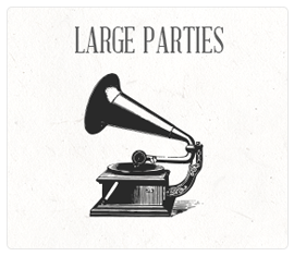 Book a Large Party Button