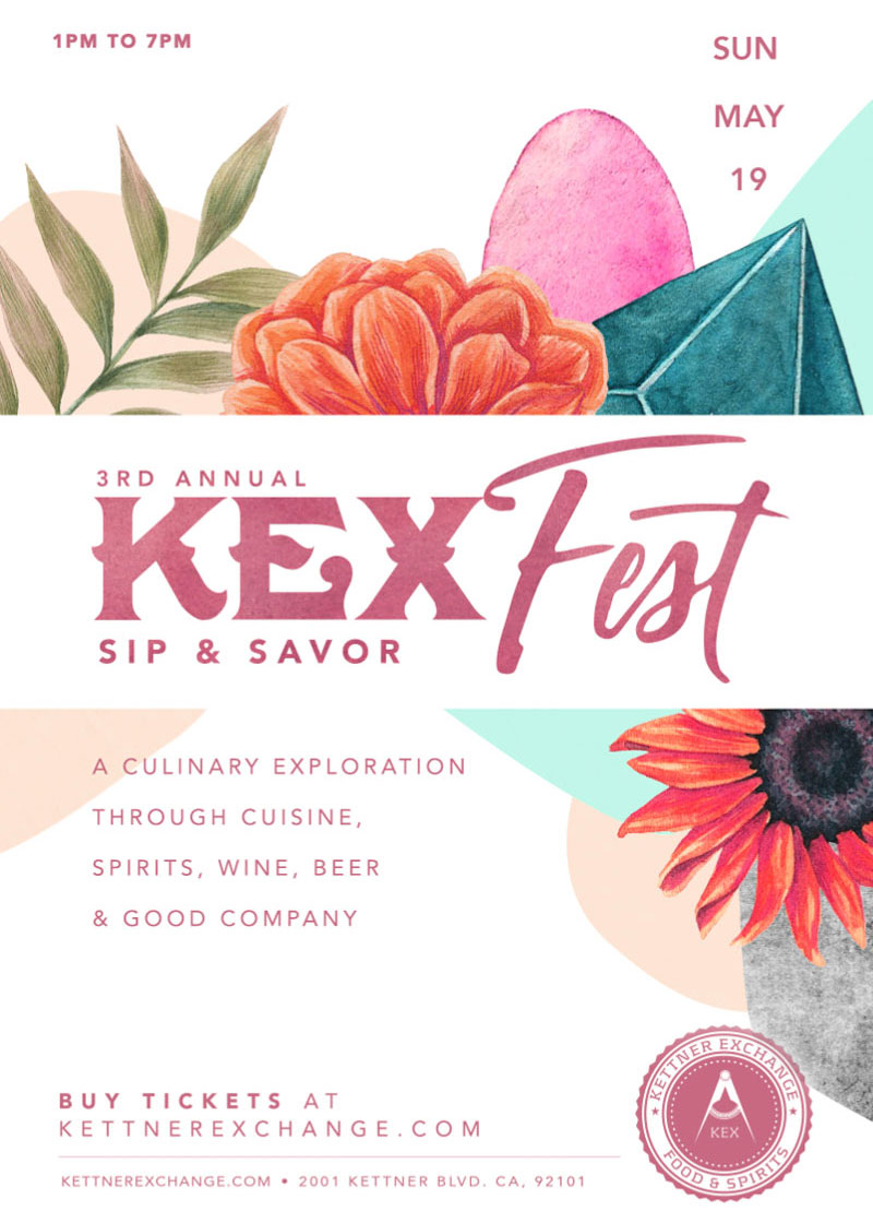 3rd Annual KEX Fest | Sip & Savor | May 19 @ 1:00 pm - 7:00 pm